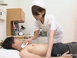 Be fond of Makoto Yuuki sucks get under one's life out of will not hear of patient's palatable unearth